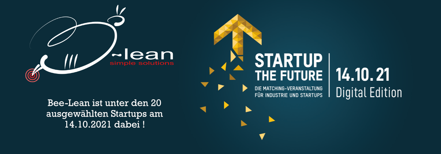 """Bee-Lean meets """"Startup the Future"""""""